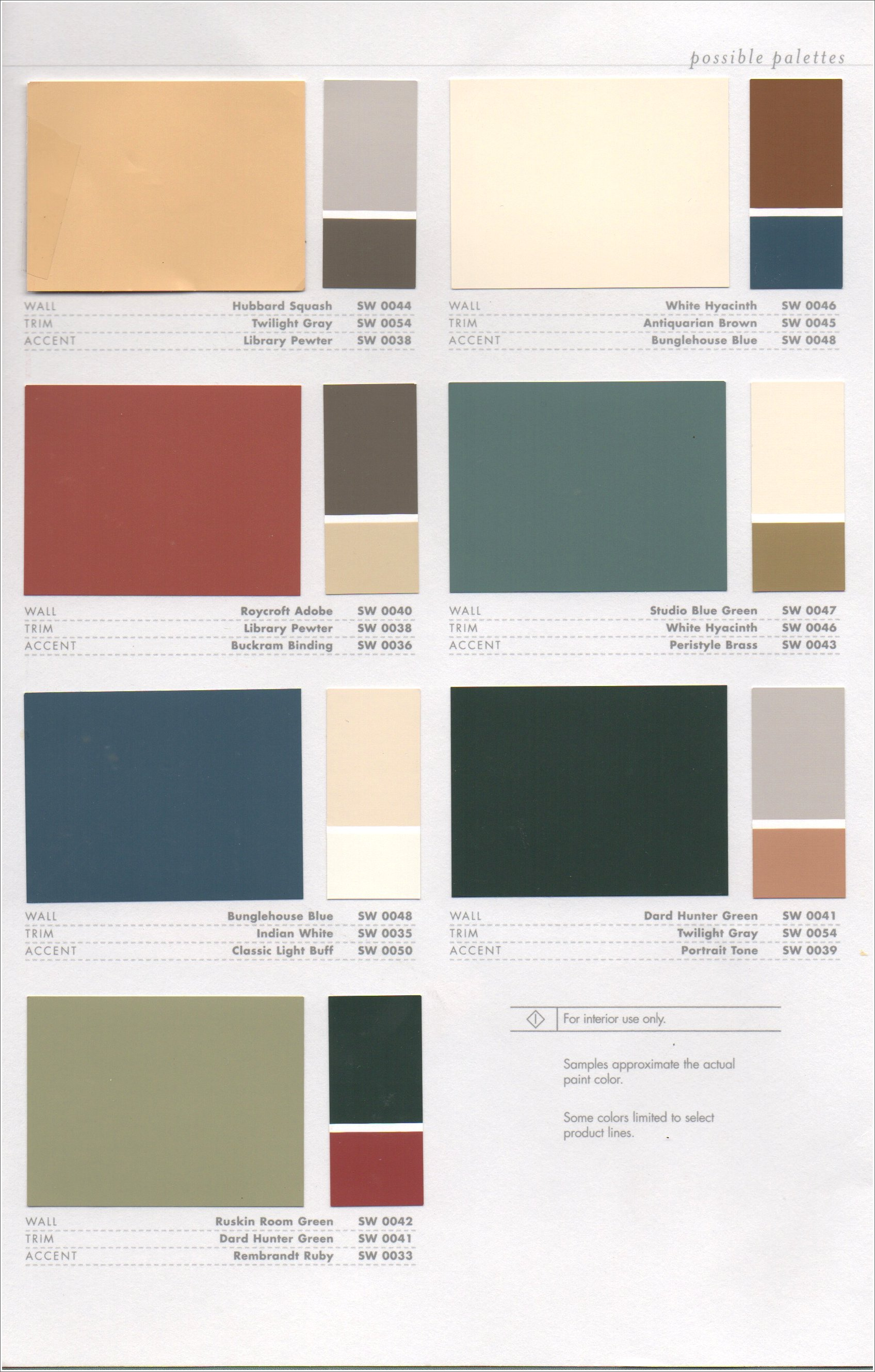 colonial paint colors submited images